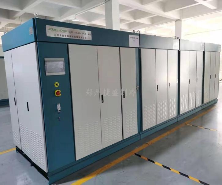 气调一体机并联系统使用于万吨果蔬气调库