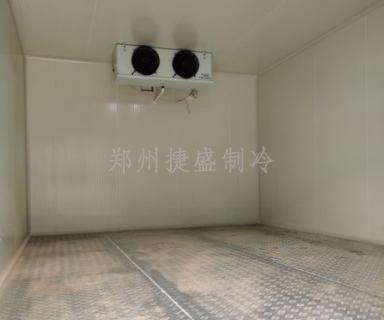 河南省农科院园艺所防滑铝板地保温冷库