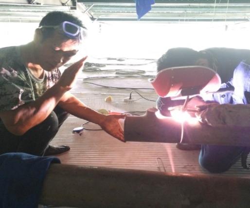 制冷GC2压力管道氩弧焊焊接