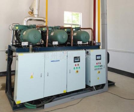 比泽尔半封螺杆压缩机并联制冷机组