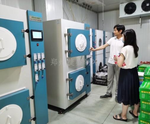 中国农科院郑州果树所气调试验系统技术培训交流